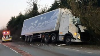 Lorry-crash